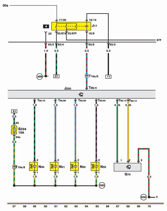 Двигатель Motronic, измеритель